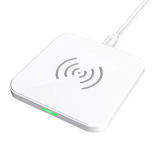 CHOETECH qi ワイヤレス充電器 10W/7.5W急速充電対応 超薄型 AirPods 2 、iPhone XS/XS Max/XR/X、Samsungシリーズ等その他Qi機種対応 ホワイト