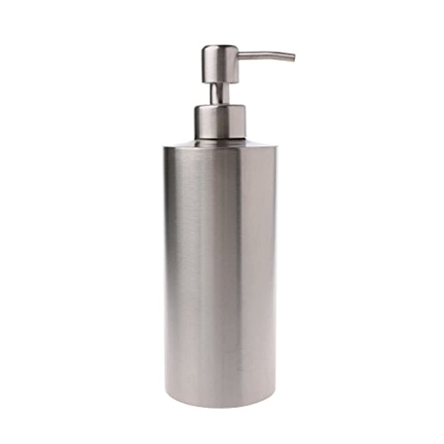 幻影マティスゲートLamdoo 304ステンレス鋼ポンプ液体石鹸ローションディスペンサーボトルキッチンバスルーム