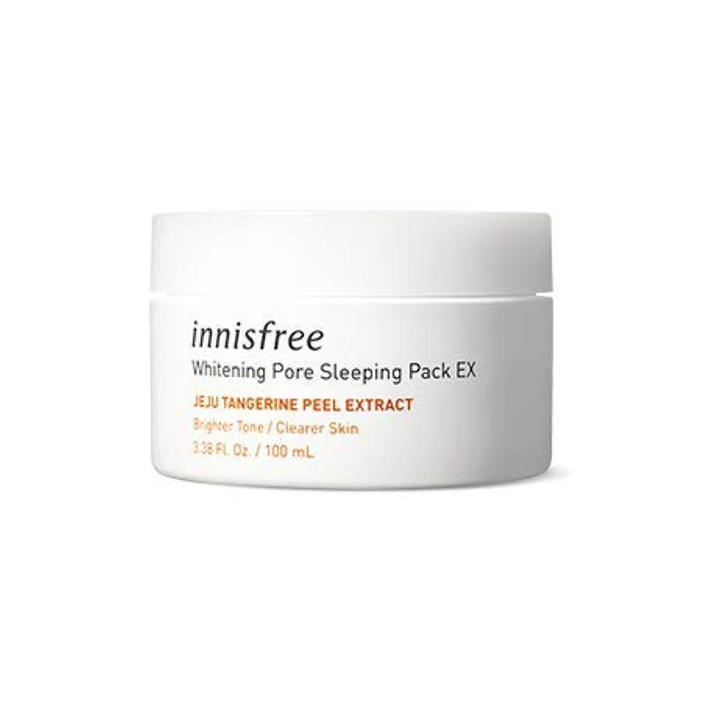 [イニスフリー.innisfree](公式)ホワイトニングポアスリーピングパックEx100mL(2019.04新発売)/ whitening pore sleeping pack EX(2019 new product)