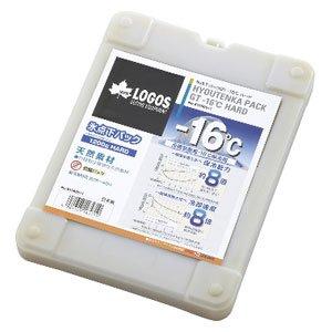 ロゴス 氷点下パックGT-16℃・ハード1200g(保冷剤)