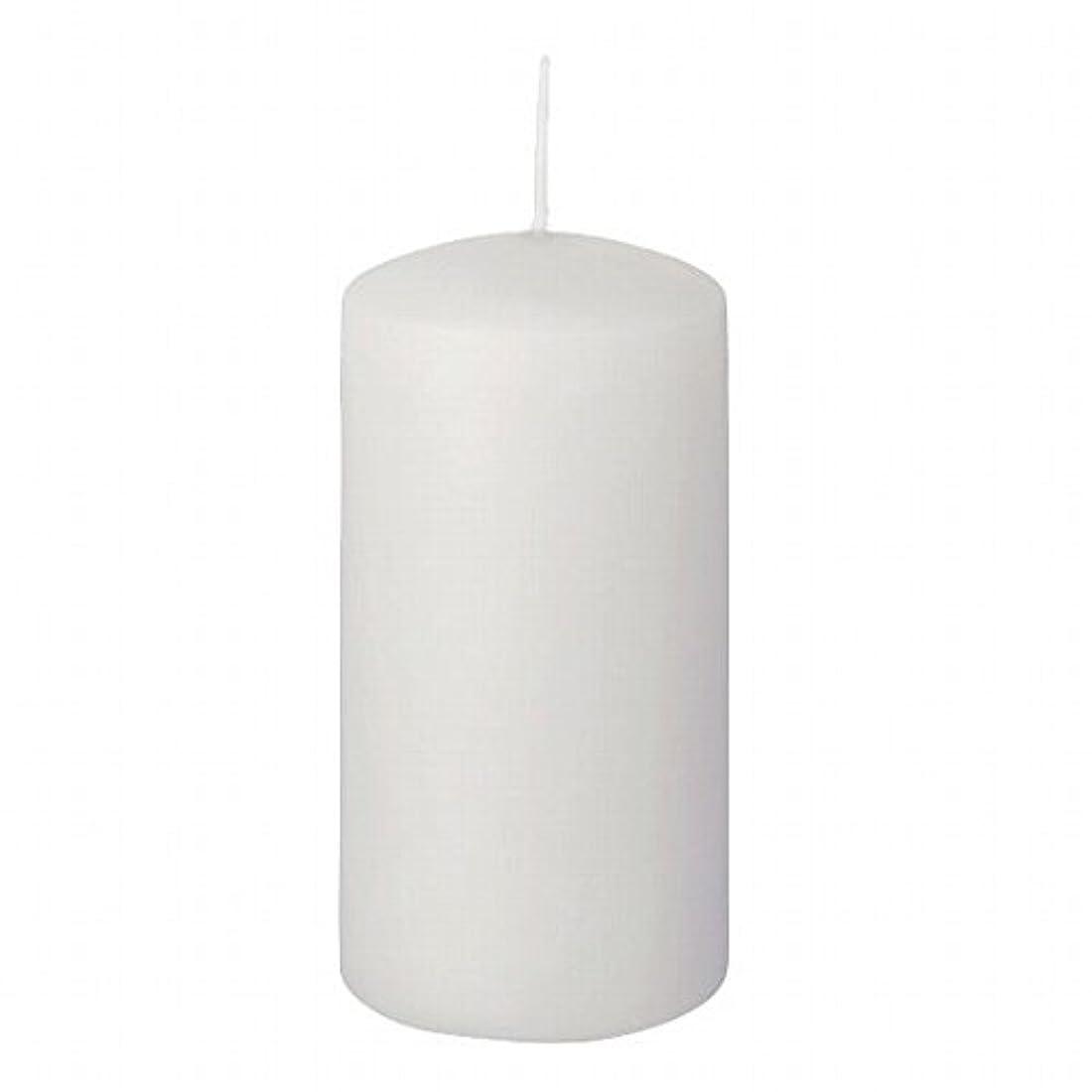 司法広告知恵ヤンキーキャンドル(YANKEE CANDLE) 4インチピラー50 「 ホワイト 」