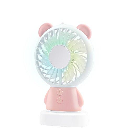 WAYONE 手持ち扇風機 USB扇風機 充電式 ミニ 小型...
