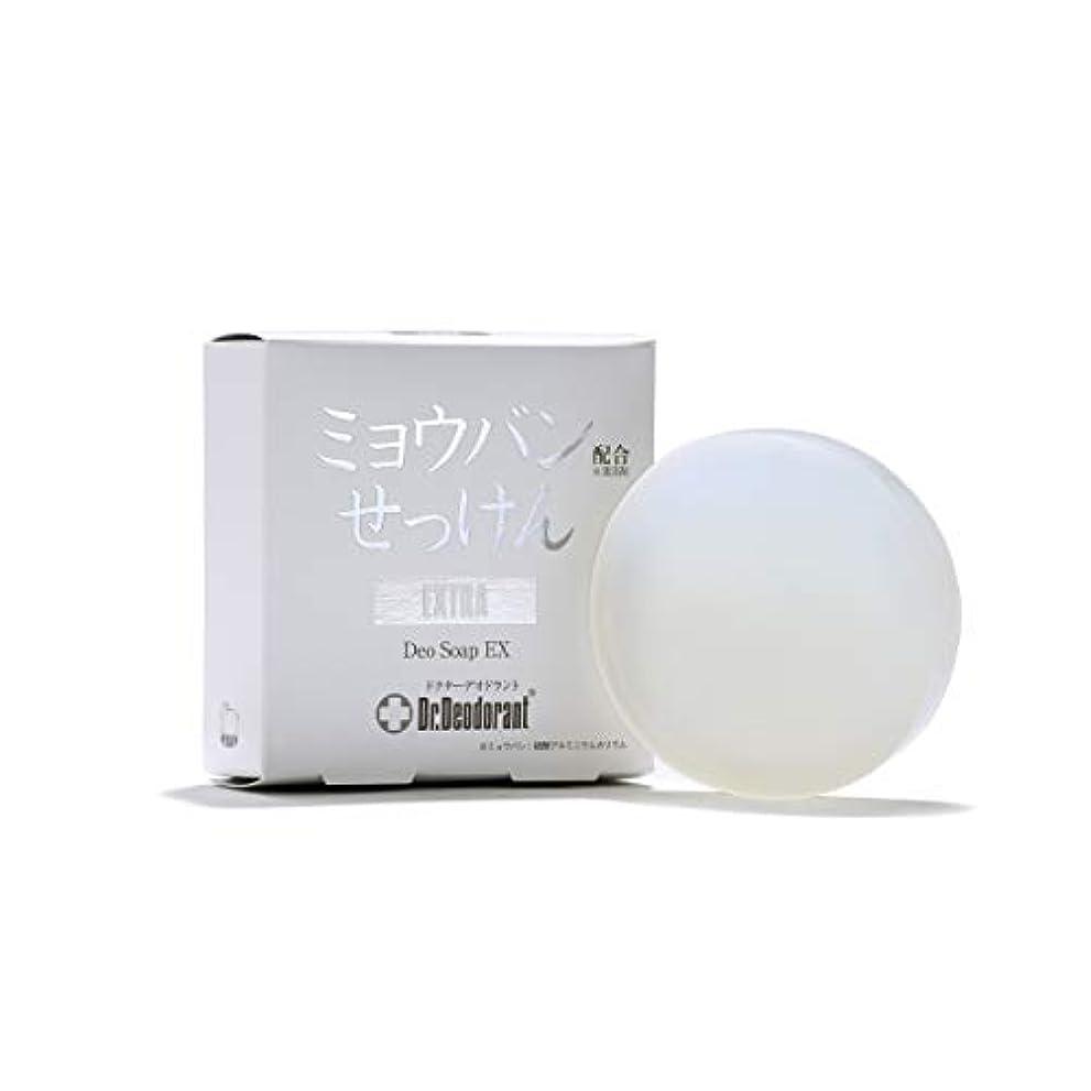 作ります送信するアレルギー性ドクターデオドラント 薬用ミョウバンせっけんEX (単品)
