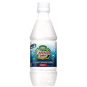 [炭酸水]コカ・コーラ カナダドライ クリアスパークリング 430mlPET×48本