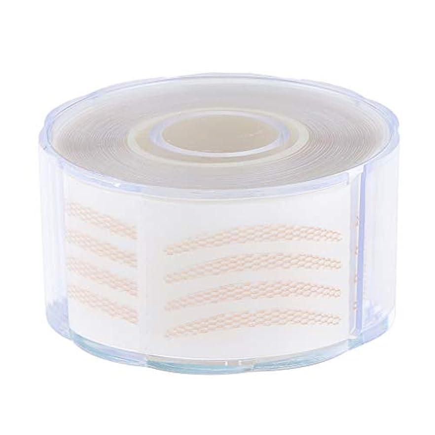 周術期かりて専門用語1組の220組の見えない繊維のストリップの二重まぶたの持ち上がるテープ - 2.5 x 0.2 cm