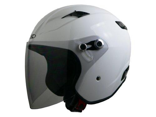 リード工業 バイクヘルメット ジェット X-AIR RAZZO III エクストリーム ホワイト L 59~60cm未満