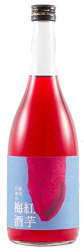 紀州石神の紅芋梅酒 720ml×6本 濱田 完熟南高梅 紅芋を漬け込んだ 色鮮やか 香りの良い梅酒