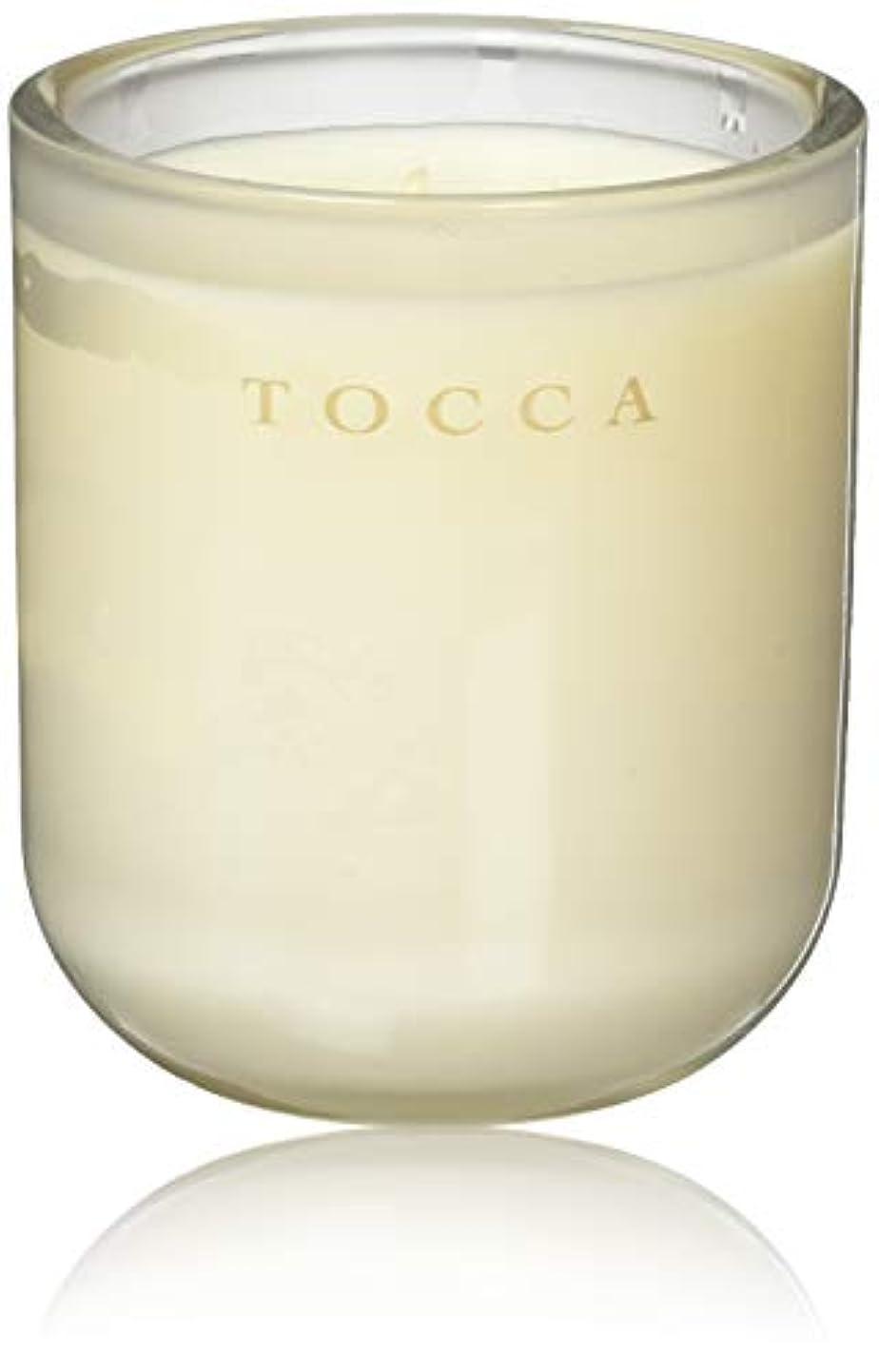 口述する一節下向きTOCCA(トッカ) ボヤージュ キャンドル カプリ 287g (ろうそく 芳香 柑橘とメロンの魅惑なシトラスな香り)