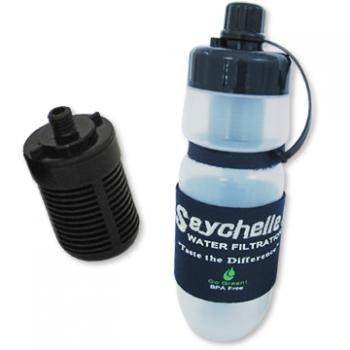 セイシェル携帯浄水ボトル
