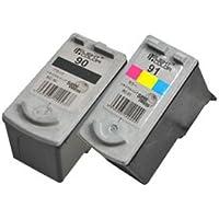 BC90 BC91 セットリサイクルインク キヤノン canon FINEカートリッジ キヤノンプリンターPIXUS iP2200 iP2500 MP450 MP460 MP470 対応  汎用インク