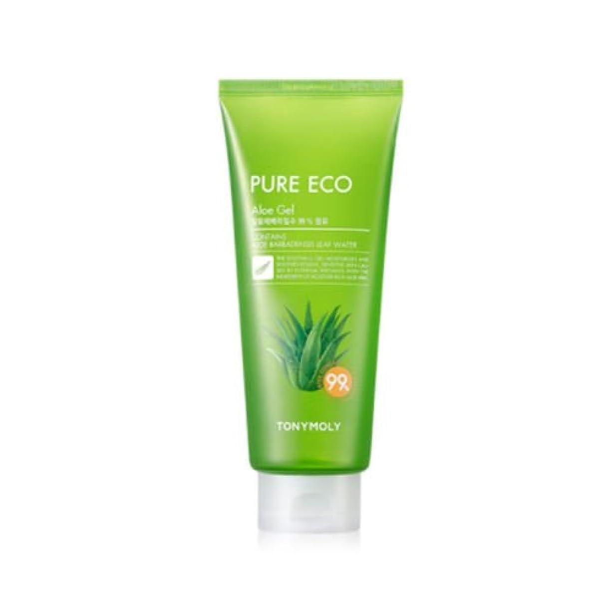 意識的突然のマトンTONYMOLY Pure Eco Aloe Gel (Tube) (並行輸入品)