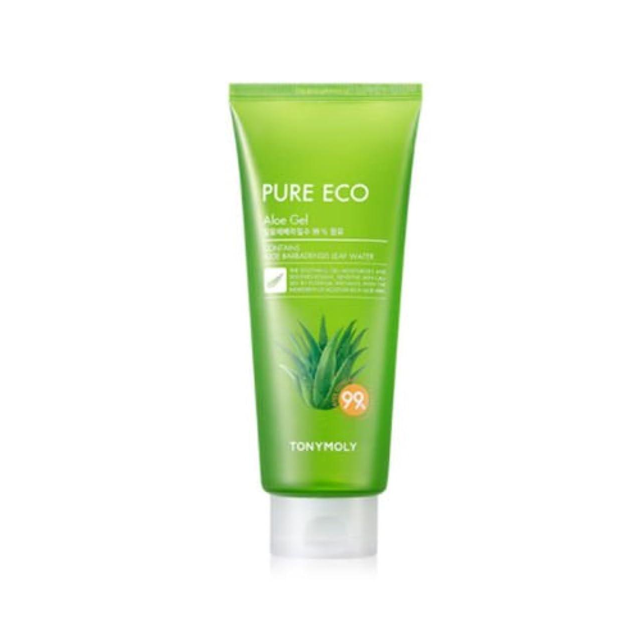 意味する反抗分析的TONYMOLY Pure Eco Aloe Gel (Tube) (並行輸入品)