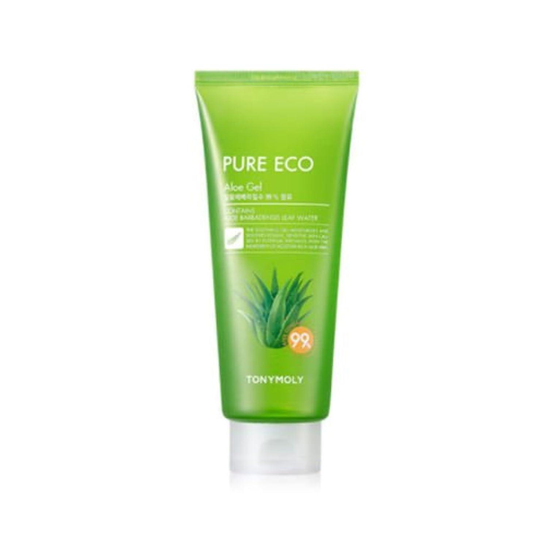 ティッシュ意識的憤るTONYMOLY Pure Eco Aloe Gel (Tube) (並行輸入品)