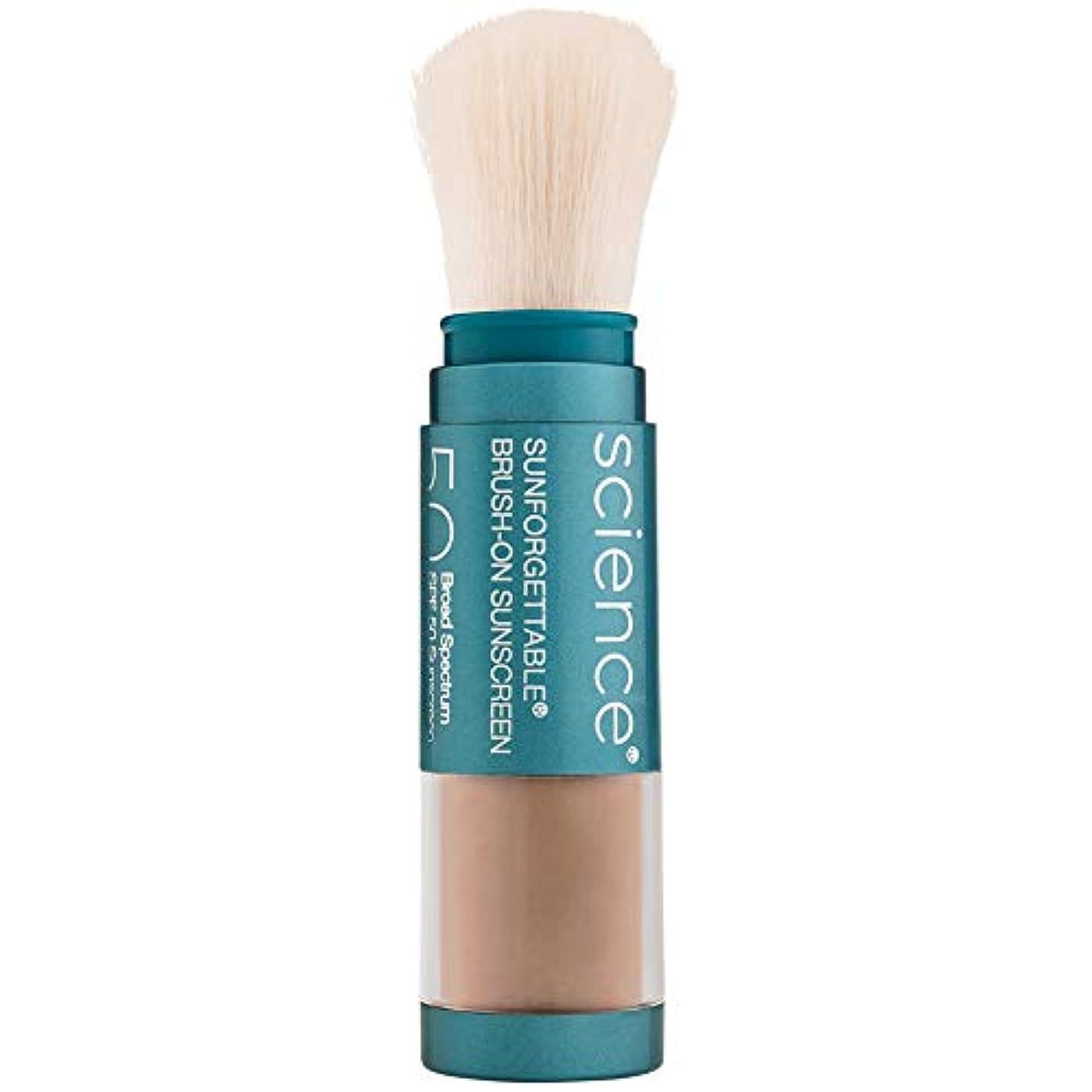の間でくちばし一方、Sunforgettable Brush-On Sunscreen SPF 50 - Deep