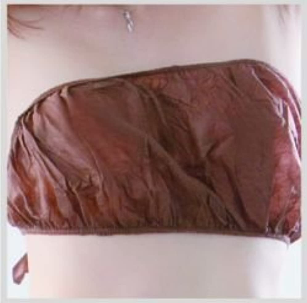 ぬいぐるみインク祖母◆ペーパーブラ(フリーサイズ) 50枚入 ダークブラウン