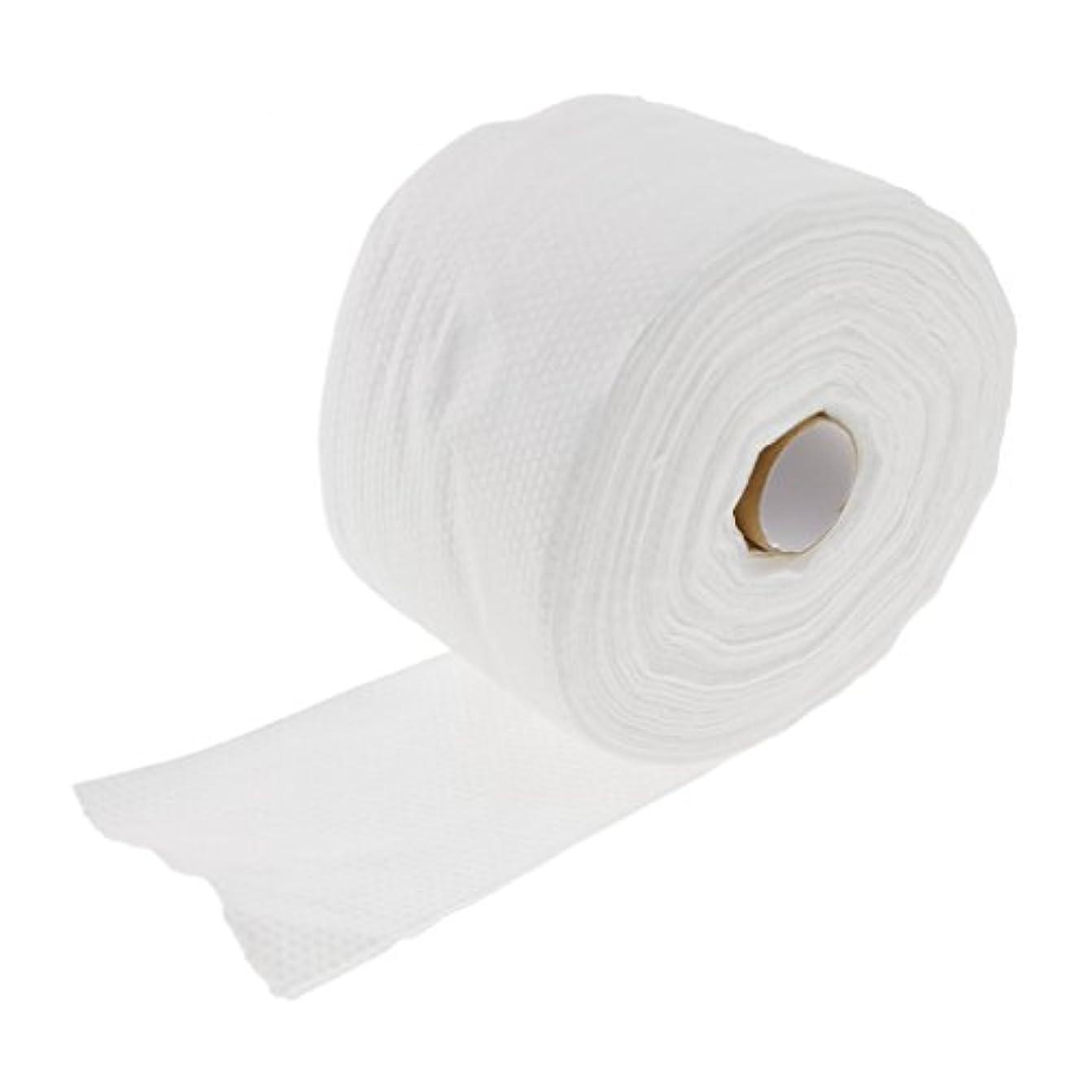 一回ブロックするサーフィンKesoto ロール式 使い捨て 洗顔タオル 使い捨てタオル 30M コットン 繊維 メイクリムーバー 2タイプ選べる - #2