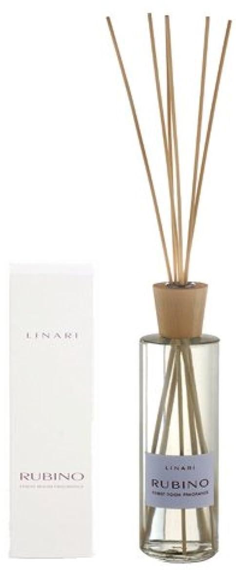 教会競争力のある適性LINARI リナーリ ルームディフューザー 500ml RUBINO ルビーノ ナチュラルスティック natural stick room diffuser