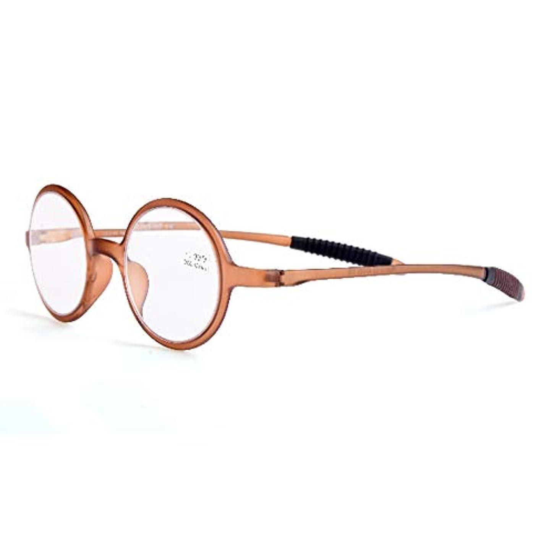 操作可能平和な急流男性と女性用の超軽量老眼鏡、丸型老眼鏡、Hd樹脂レンズ、快適でクリアなレトロメガネ