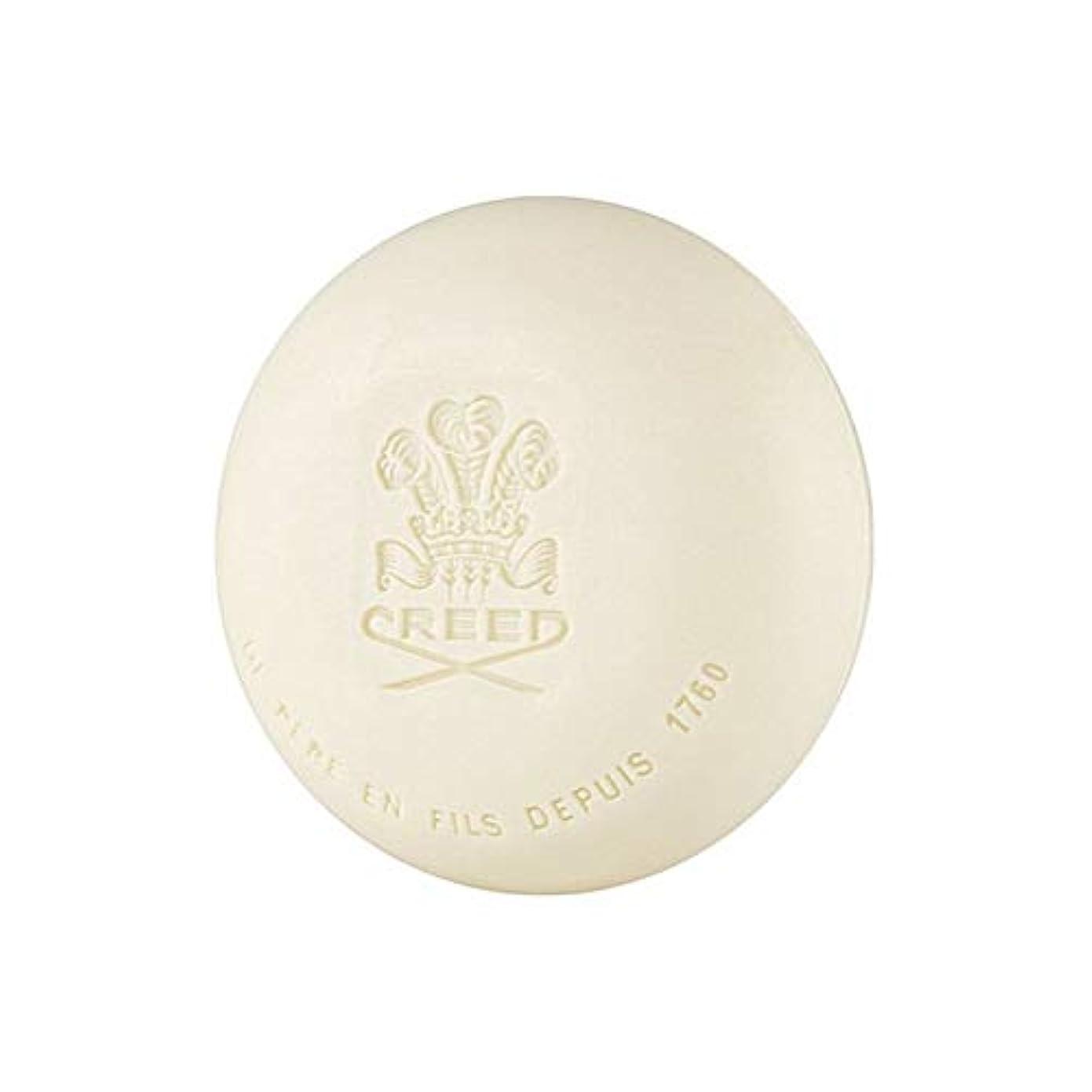 赤面起こる独特の[Creed ] 信条グリーンアイリッシュツイード石鹸150グラム - Creed Green Irish Tweed Soap 150G [並行輸入品]