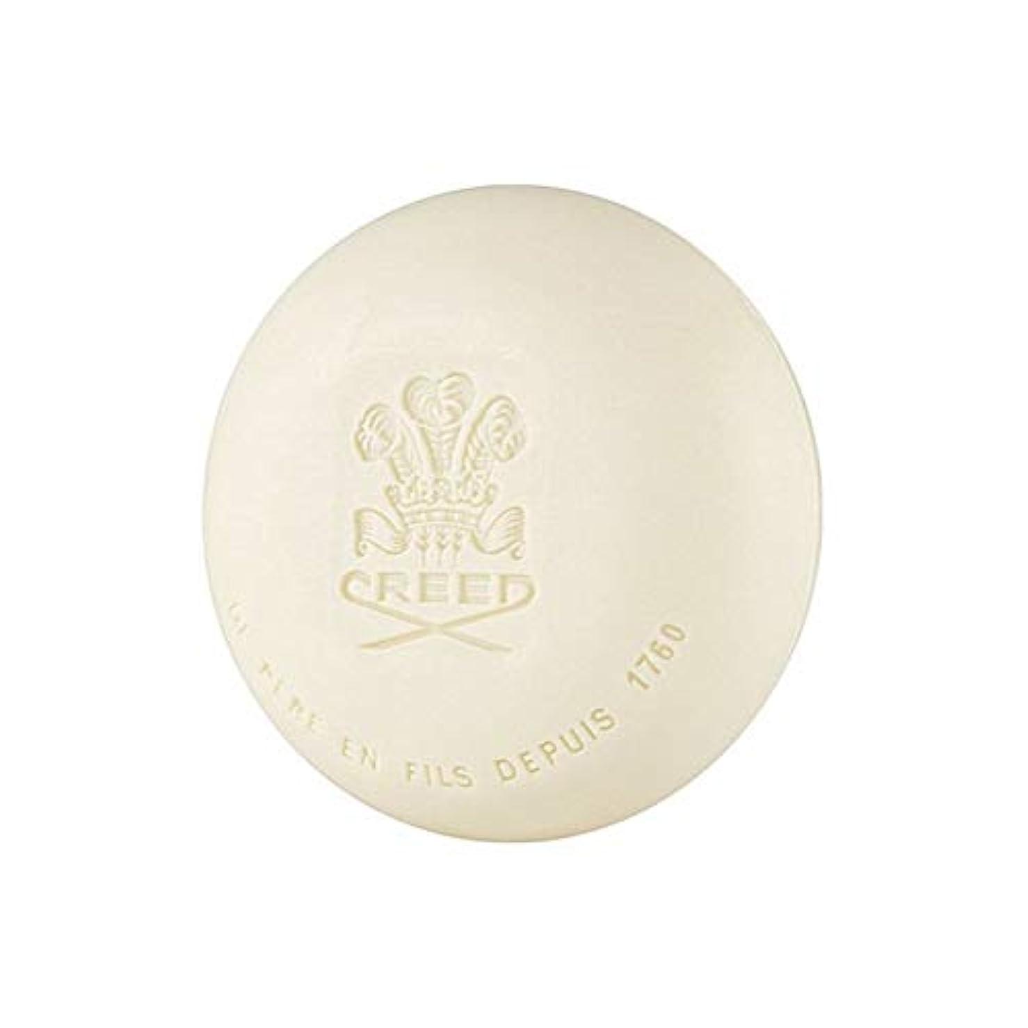 連鎖比喩おしゃれじゃない[Creed ] 信条グリーンアイリッシュツイード石鹸150グラム - Creed Green Irish Tweed Soap 150G [並行輸入品]