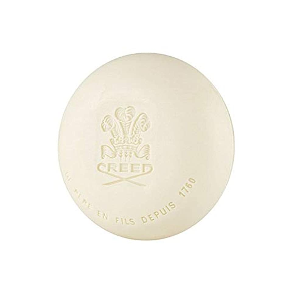 カーテン地下室分布[Creed ] 信条グリーンアイリッシュツイード石鹸150グラム - Creed Green Irish Tweed Soap 150G [並行輸入品]