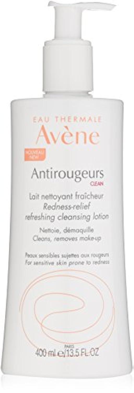 アベンヌ Antirougeurs Clean Redness-Relief Refreshing Cleansing Lotion - For Sensitive Skin Prone to Redness 400ml...