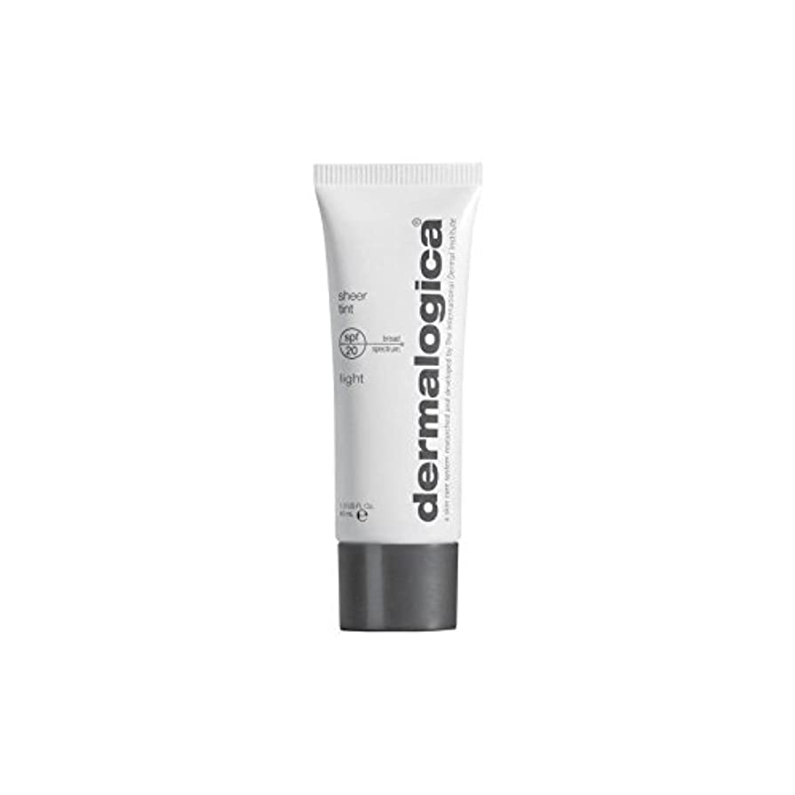 連合味方ジャンプダーマロジカシアーティント 20光 x2 - Dermalogica Sheer Tint Spf 20-Light (Pack of 2) [並行輸入品]