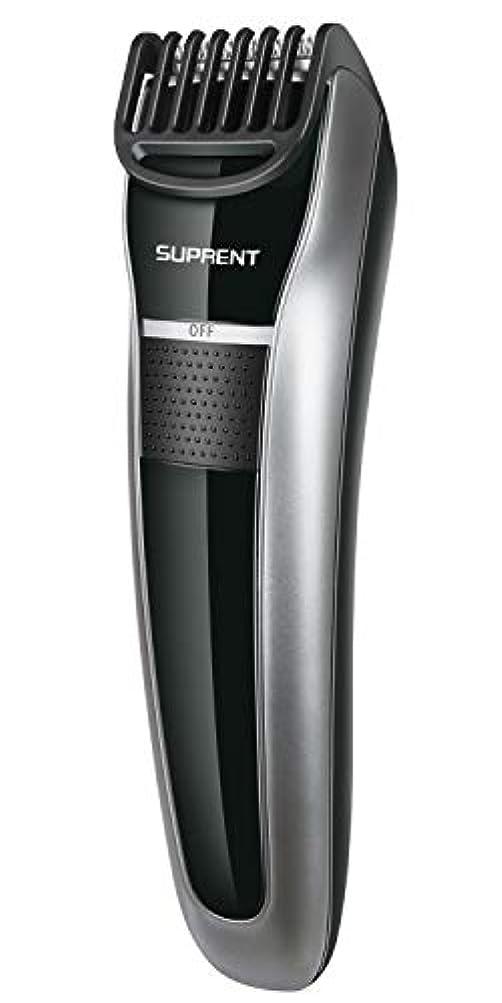 電動バリカン SUPRENT ヘアカッター 多機能バリカン 多サイズ調節 USB速く充満