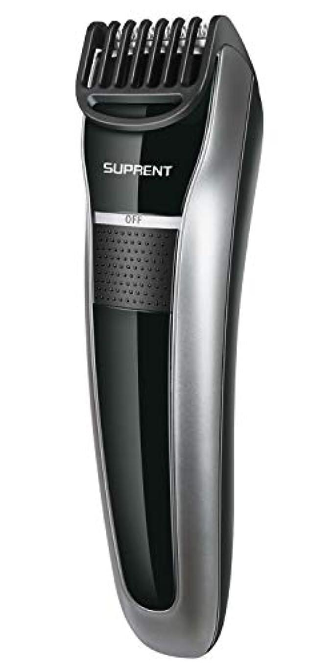 吸収有名人太字電動バリカン SUPRENT ヘアカッター 多機能バリカン 多サイズ調節 USB速く充満