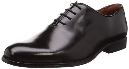 [フォクスセンス] ビジネスシューズ 紳士靴 メンズ 本革 プレーントゥ 内羽根 革靴 ブラック 27.0cm 6721-11