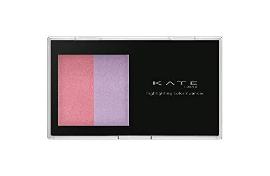 下に味鉛KATE(ケイト) ケイト ハイライティングカラーニュアンサー EX-1 チーク ピンク×パープル 4.5g