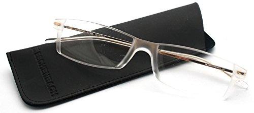 エッシェンバッハ 遠近両用老眼鏡 PCビュアー 1.5度×0.5度 シャンパンゴールド 2905-115