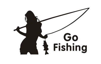 【オルルド釣具】フィッシングステッカー 「 Go Fishi...