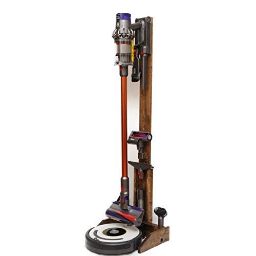 ST-04 EB 掃除ロボット+コードレスクリーナー用純木製...