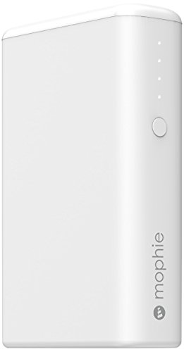 mophie power boost v2 (5200mAh USB×2ポート 急速充電対応 モバイルバッテリー) 最大3.1A出力 iPhoneAndroid対応 ホワイト 正規代理店品 MOP-BY-000156