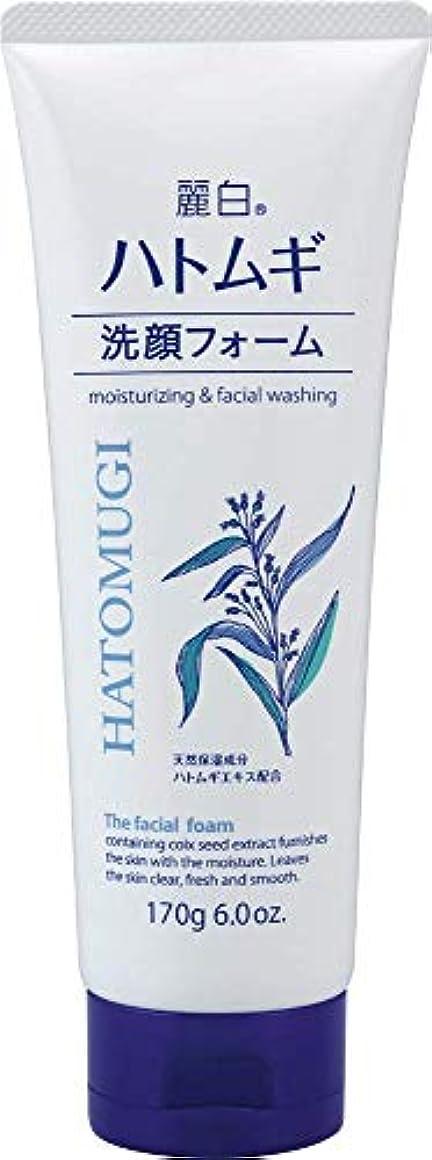 その間スーパーマーケット正しい熊野油脂 麗白 ハトムギ洗顔フォーム 170g 4513574029590