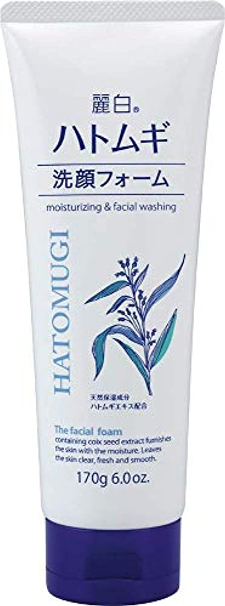 低い分子自然公園熊野油脂 麗白 ハトムギ洗顔フォーム 170g 4513574029590