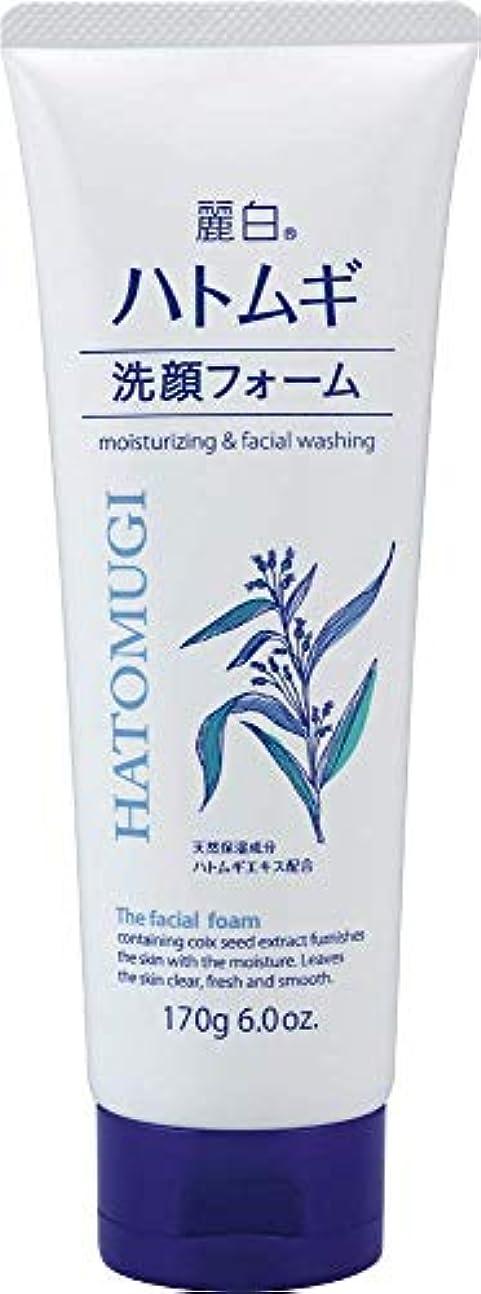 控えるしなやかコスト熊野油脂 麗白 ハトムギ洗顔フォーム 170g 4513574029590