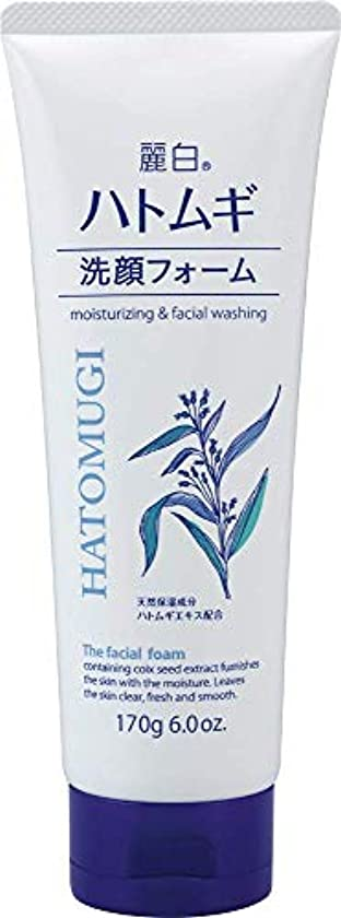 世界マサッチョ甥熊野油脂 麗白 ハトムギ洗顔フォーム 170g 4513574029590