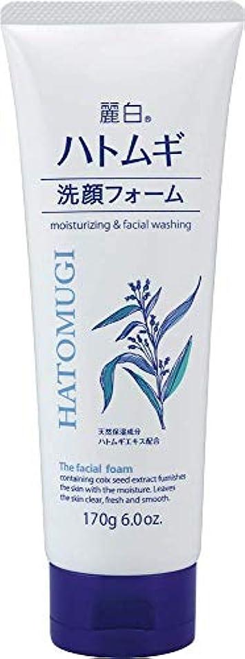 浸漬ニコチンロマンチック熊野油脂 麗白 ハトムギ洗顔フォーム 170g 4513574029590