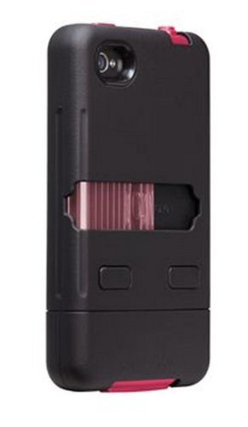 トムオードリース剥離パイントCase-Mate iPhone 4/4S用 ミリタリーグレードケース タンク ブラック/ピンク CM016803