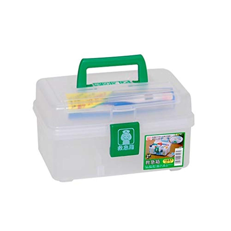 お肉実際取るに足らないSGLI プラスチック製の薬箱、調整可能な薬の収納箱、小さな救急箱