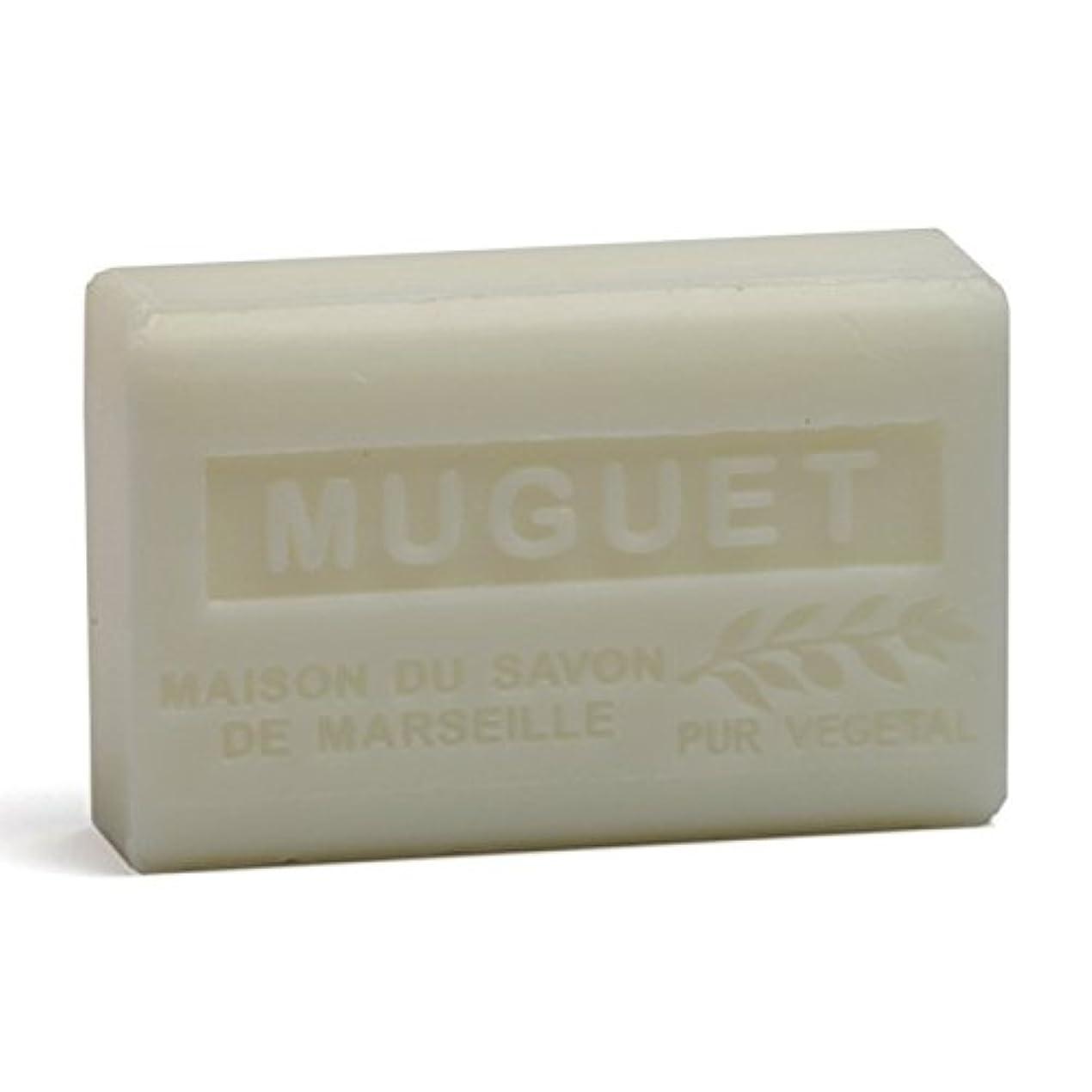 やさしいショット抑制Savon de Marseille Soap Lily of the Valley Shea Butter 125g