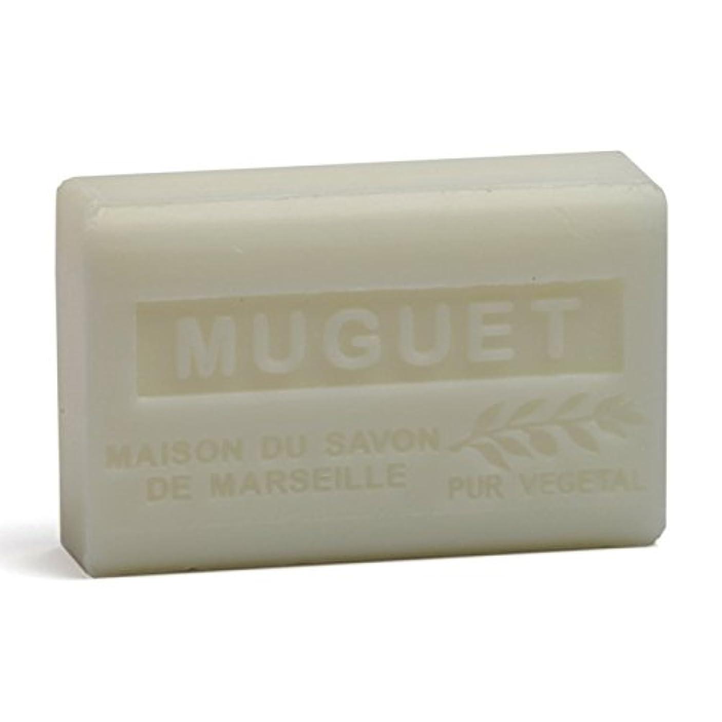 航空薬を飲むアクションSavon de Marseille Soap Lily of the Valley Shea Butter 125g