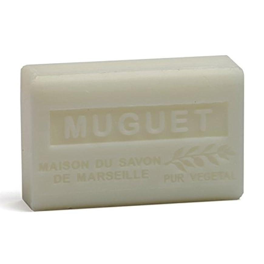 ライフル正確ひそかにSavon de Marseille Soap Lily of the Valley Shea Butter 125g