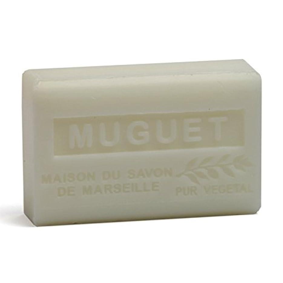 地域のエンジニアリング壮大なSavon de Marseille Soap Lily of the Valley Shea Butter 125g