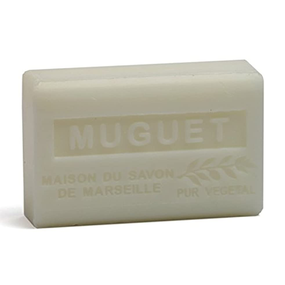 眠る合意まあSavon de Marseille Soap Lily of the Valley Shea Butter 125g
