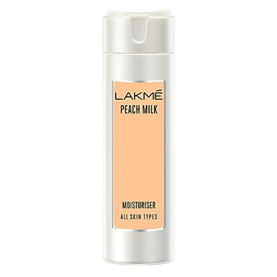 香りゴム印象Lakme Peach Milk Moisturizer Body Lotion, 120ml