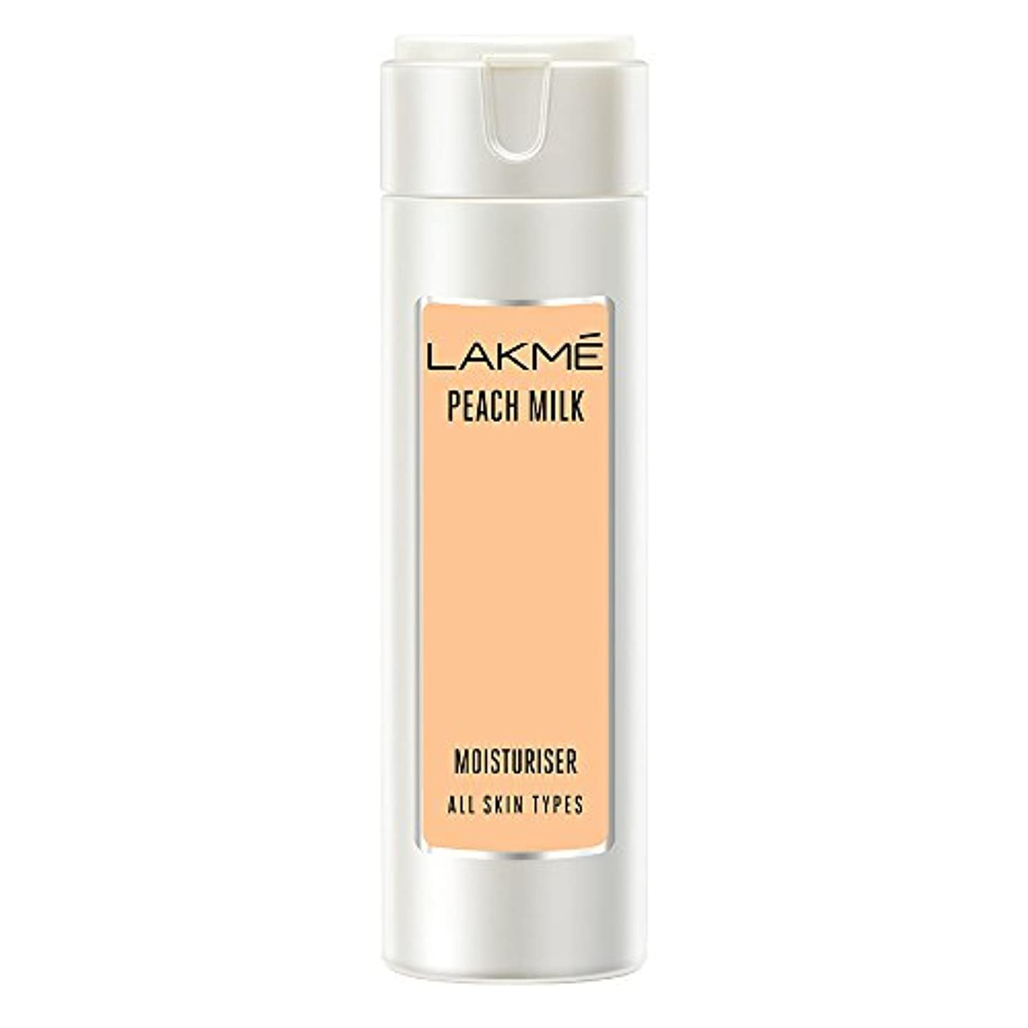 リーン巻き戻すモールス信号Lakme Peach Milk Moisturizer Body Lotion, 120ml