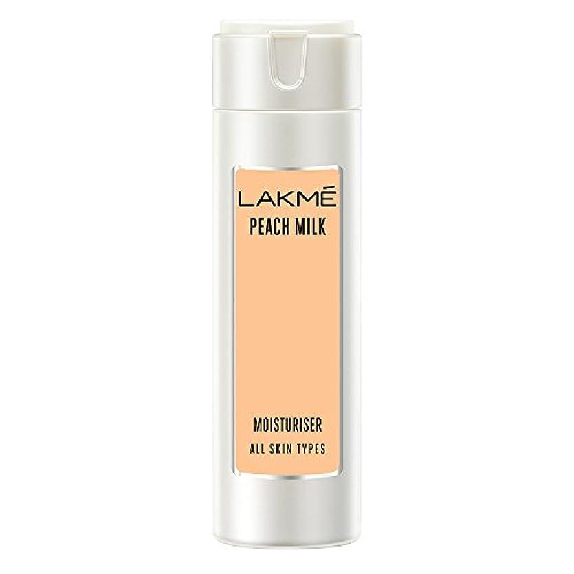 示す赤反応するLakme Peach Milk Moisturizer Body Lotion, 120ml